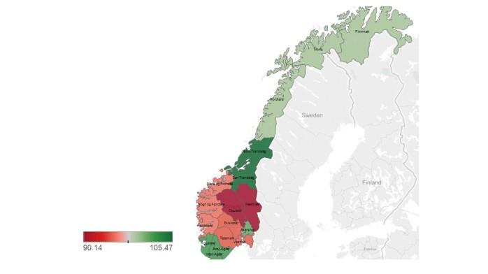 Norway rescaled